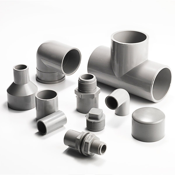 Fittings for Pvc for hot water